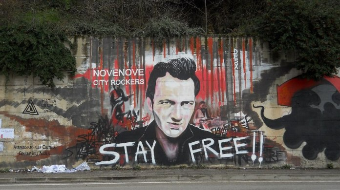 By DesX – A tribut to Joe Strummer from The Clash