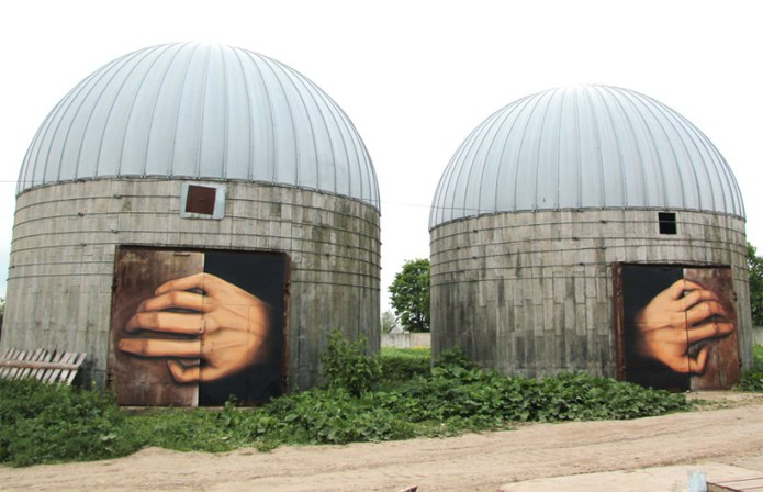 Street Art by Nikita Nomerz – In Tula, Russia