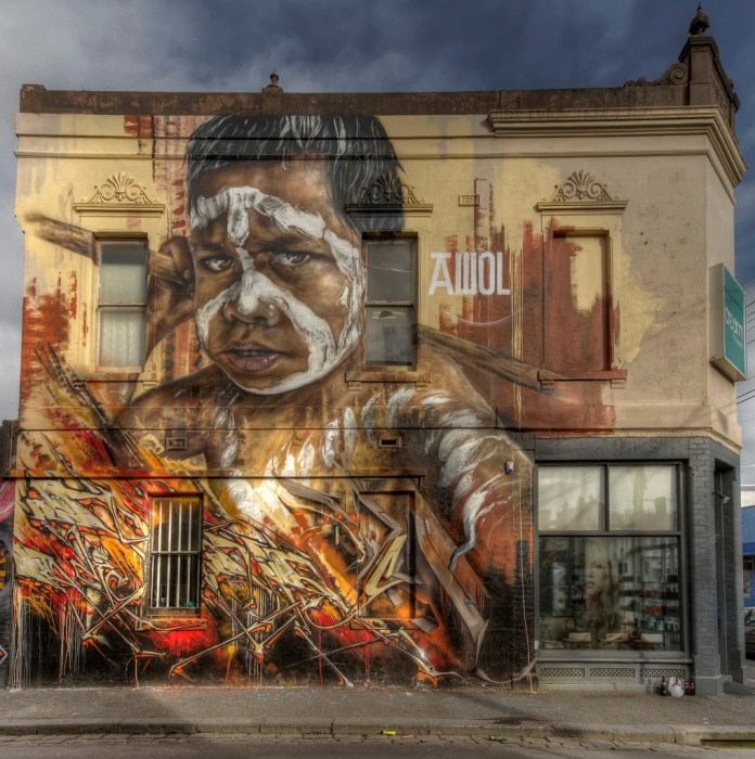 By AWOL – In Fitzroy Streets, Fitzroy, Melbourne, Australia