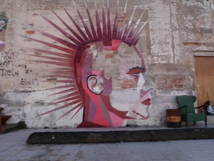 Street Art by Swampwood – In Barcelona, Spain