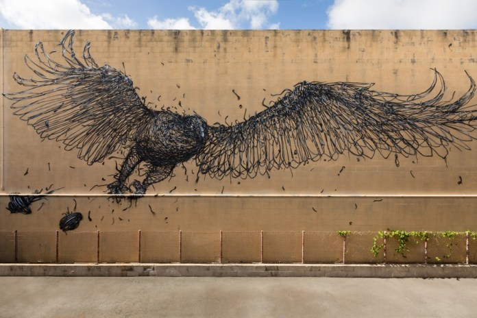 New Street Art by DALeast in South Africa and Hawaii