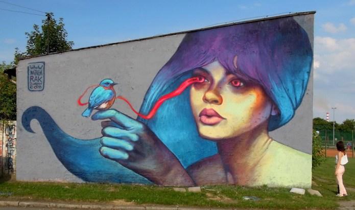 Street Art by Natalia Rak – A Collection