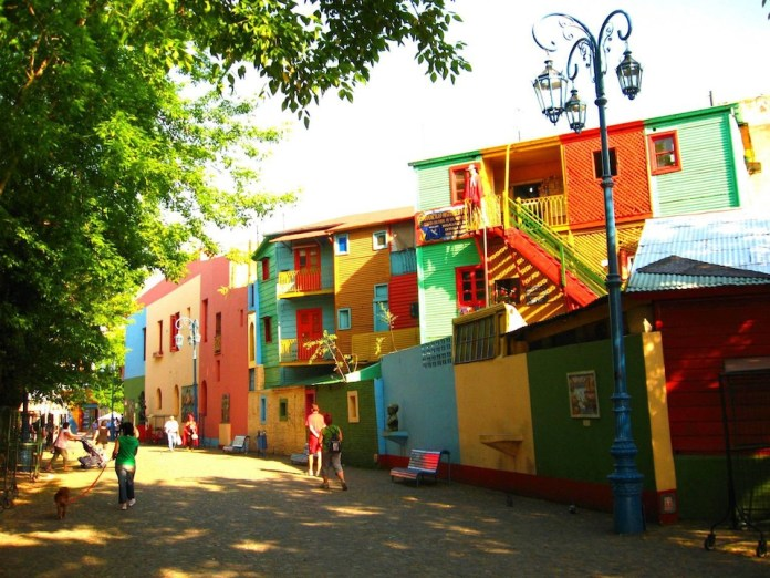 Part of the town in Buenos Aires, Argentina