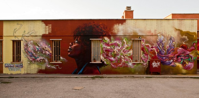 Street Art by Caktus and Maria 8