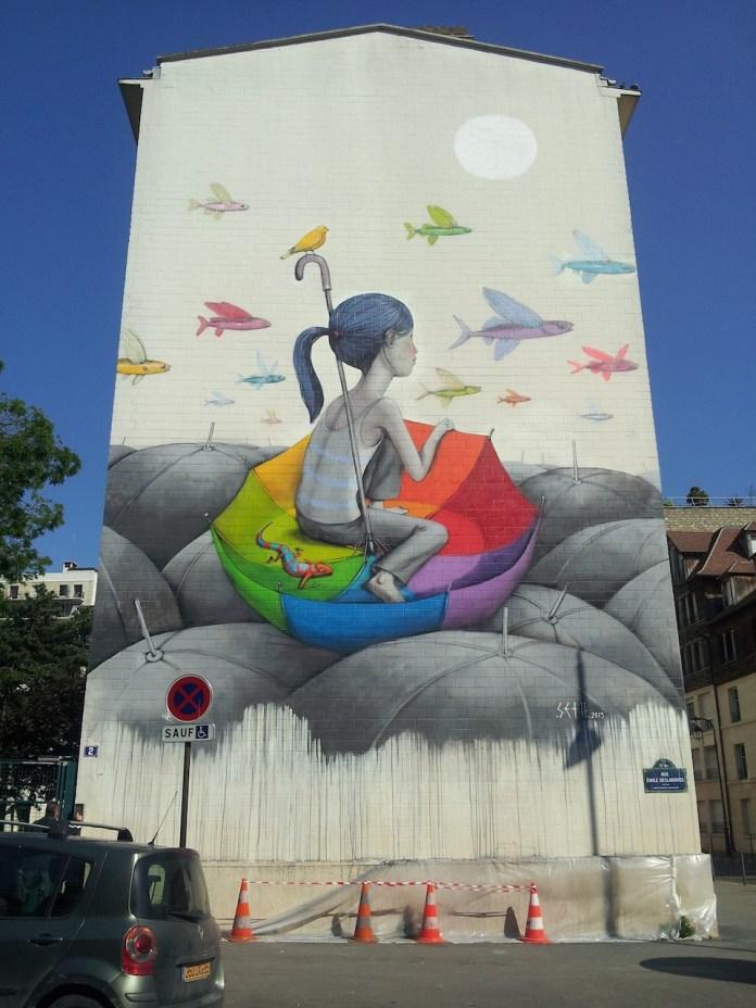 Street Art by Seth in Paris, Frace 68568568