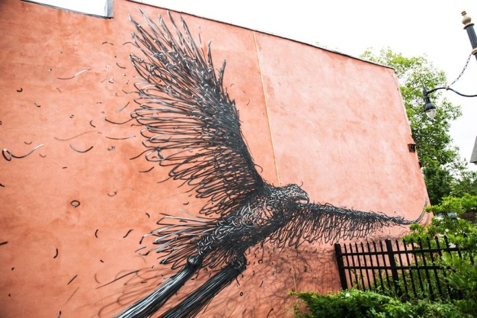 Street Art by DALeast in, Rochester NY 1