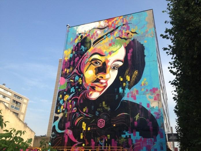 Street Art by c215 in Ivry, France 1