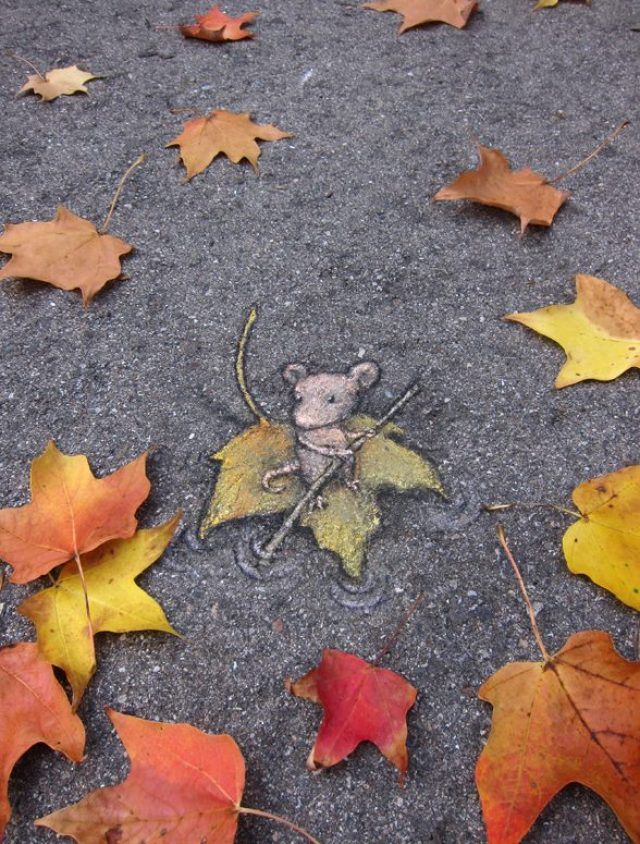 Chalk Art by David Zinn in Michigan, USA 397379