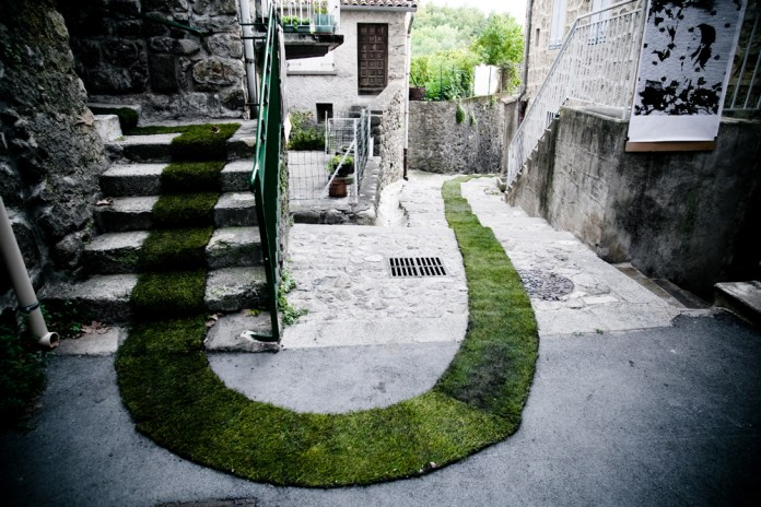 The Green Carpet – In Jaujac, France