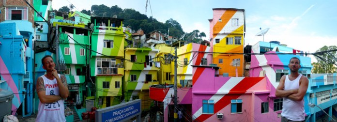 Haas & Hahn: With your help, we will paint an entire favela in Rio de Janeiro!