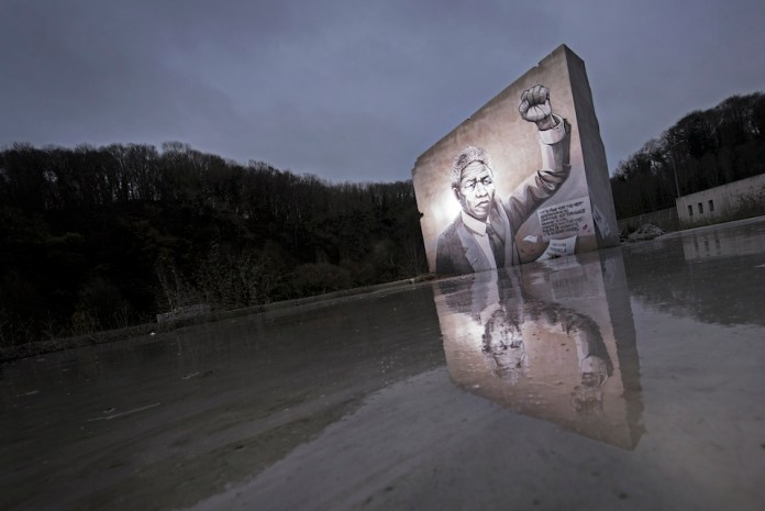 By Pakone in Brest, France - A tribute to Nelson Mandela 2