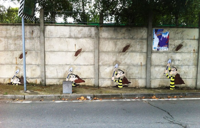 Street Art The Dalton Brothers by memeIRL