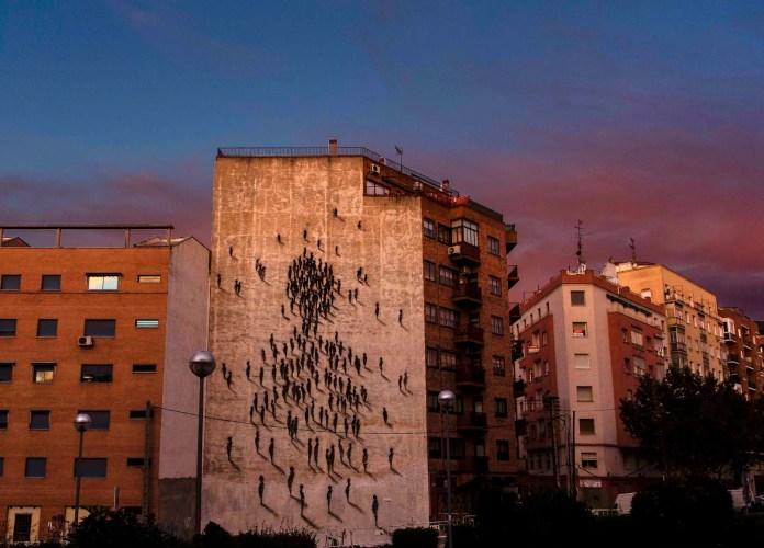 Street Art by Suso33 in Madrid, Spain