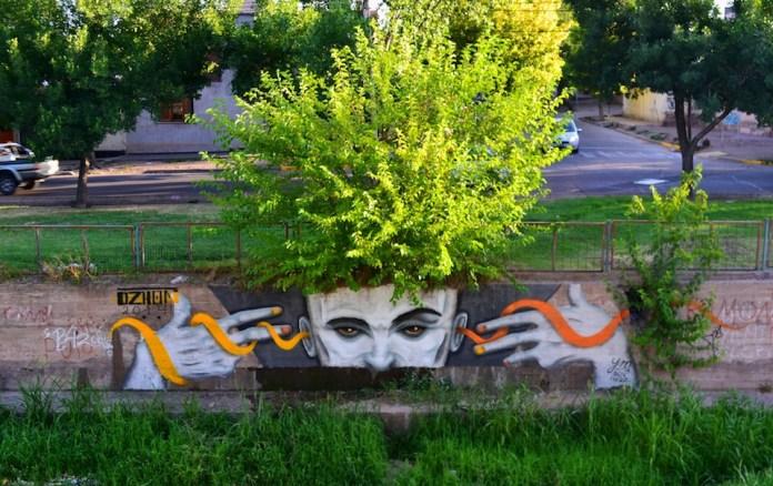 Street Art by Dzhon – In Mendoza, Argentina