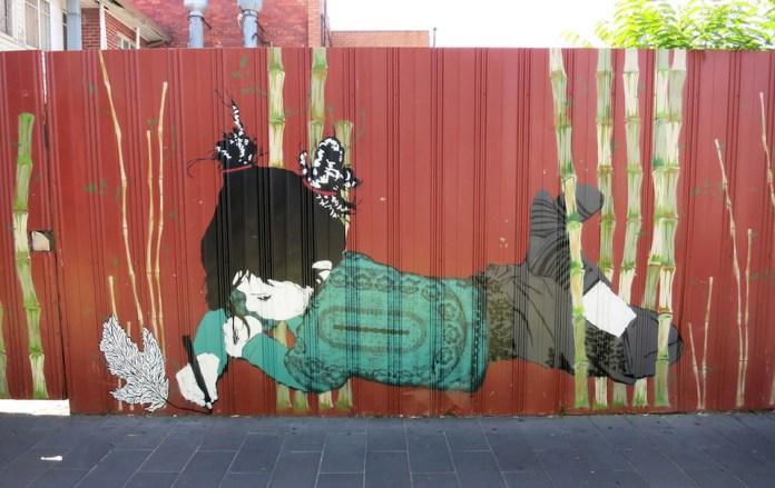 Street Art by Be Free in Melbourne, Australia 1