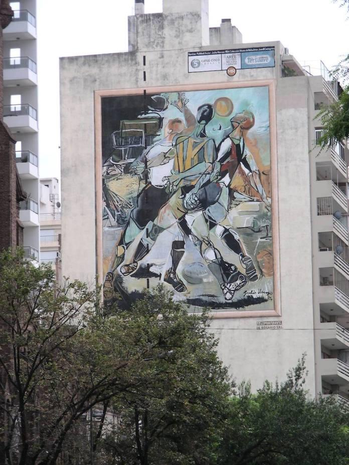Street Art in Rosario, Argentina