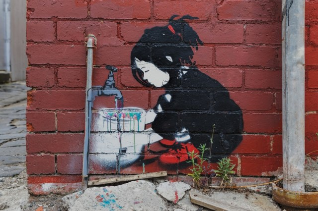 Street Art by Be Free in Melbourne, Austalia 4