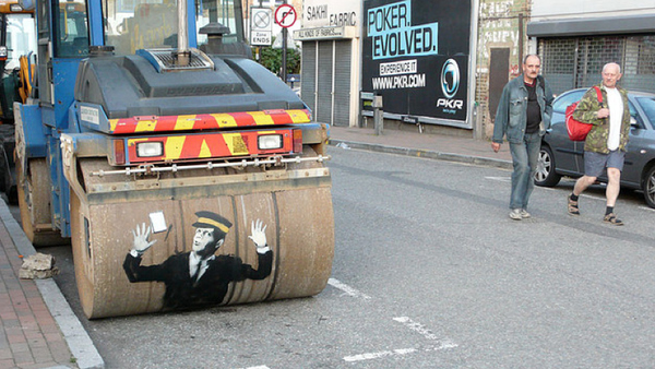 Street Art Collection - Banksy 69