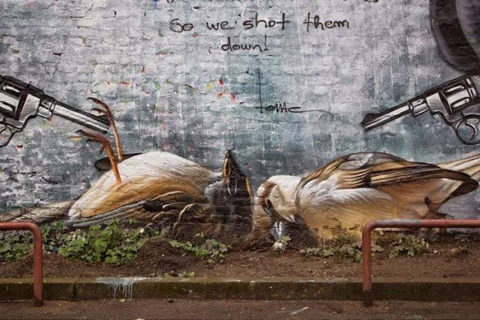 Street Art by Lonac at Ohoho Fest in Zagreb, Croatia 2