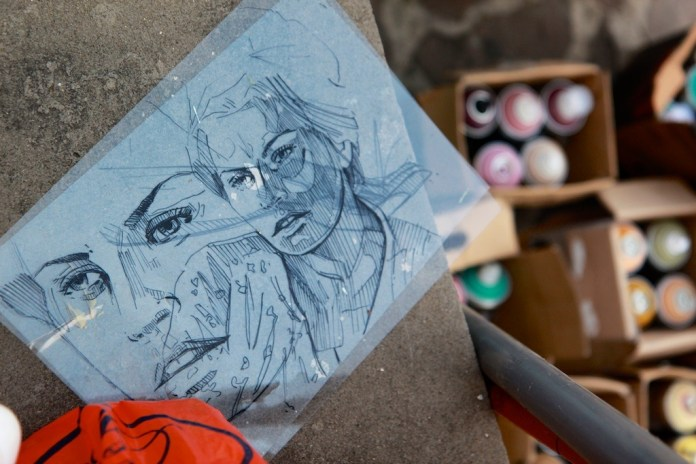 By Alice Pasquini in Itri, Italy for the Memorie Urbane Festival 2