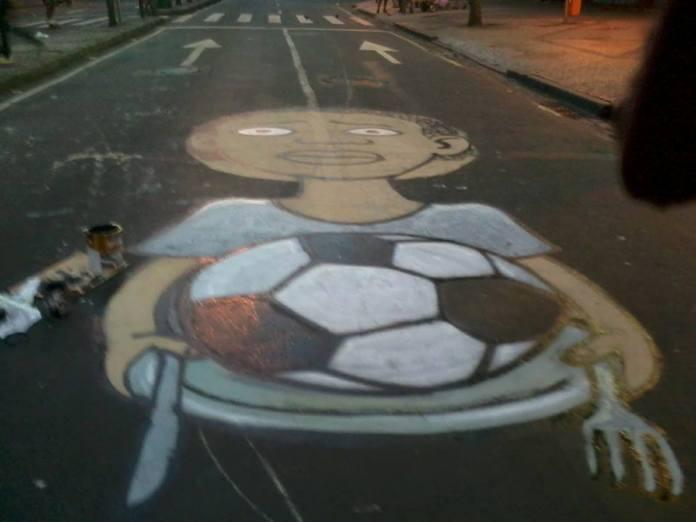 Street Art FIFA World Cup in Rio de Janeiro, Brazil 5456435772545