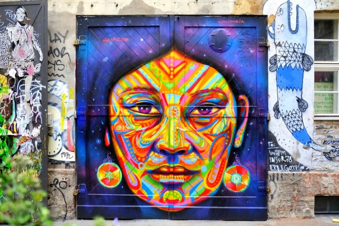 Street Art by Guashe – In Berlin, Germany