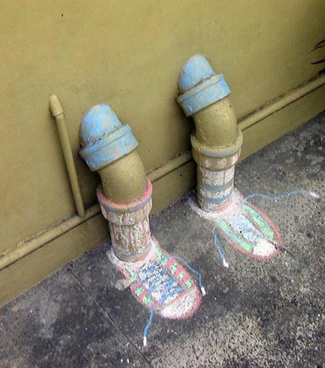 Street Art from a Chalk Street Art Project!
