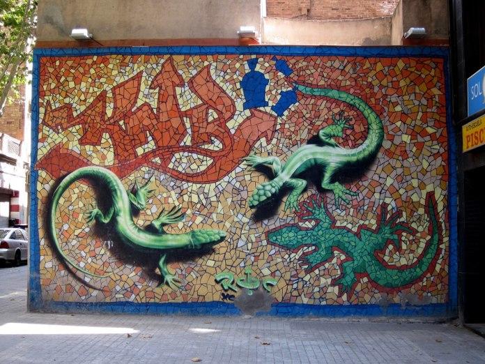 By Roc Blackblock in Entença/Déu i Mata, Barcelona, Spain