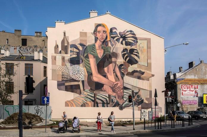 Street Art by MORIK – in Lodz Poland