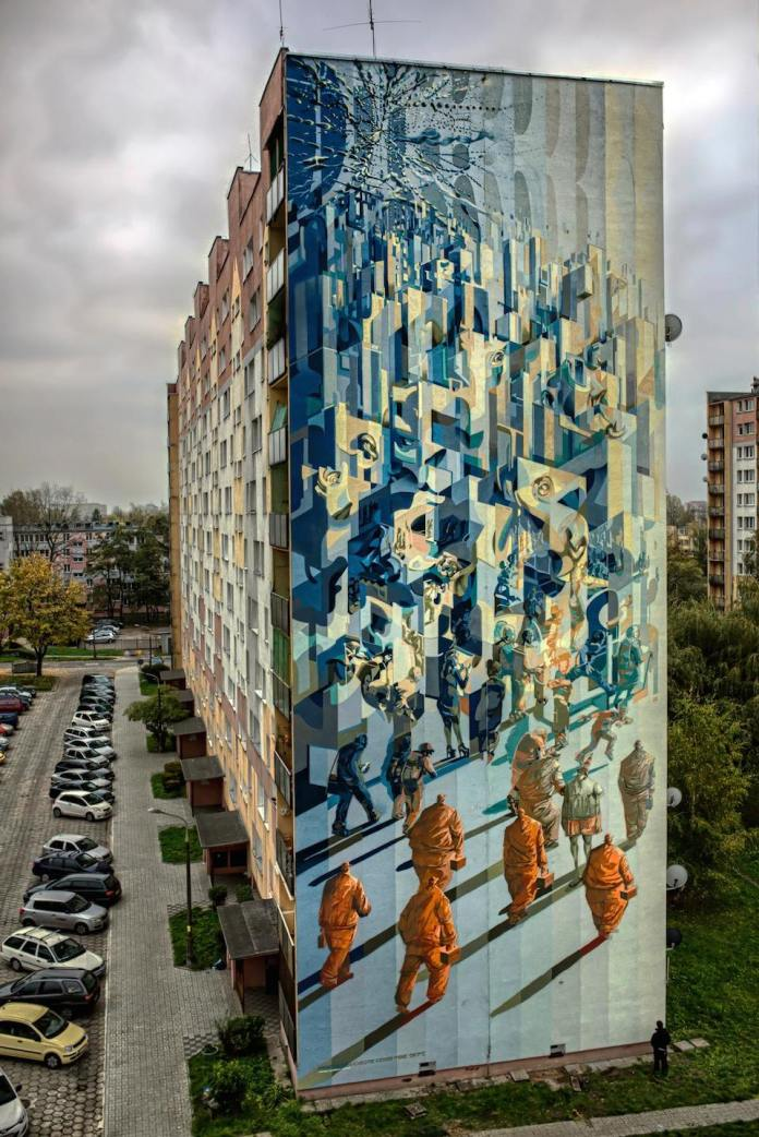 By Proembrion, Tone, Sepe, Chazme, Cekas - at GALERIA URBAN FORMS in Lodz, Poland 17