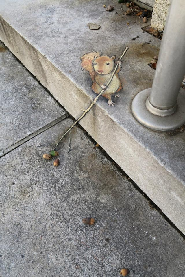 Calk Art by David Zinn in Michigan, USA 67968568