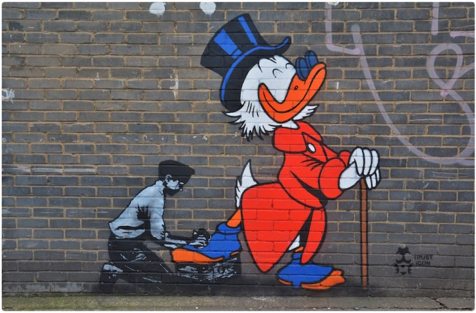 Von Anka - Street Art by Trust iCon in London, England