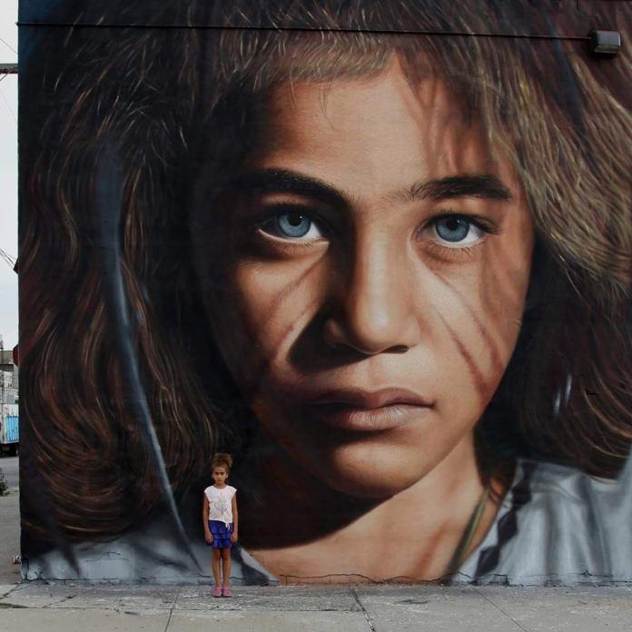 Sonia graffiti in Brooklyn NY