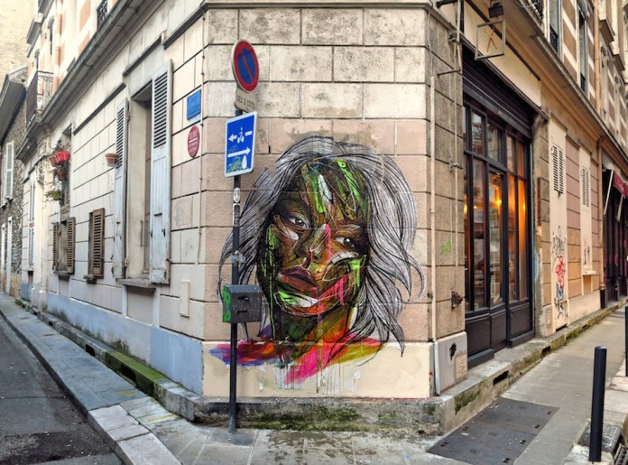 Street Art by Hopare in Grenoble, France 2