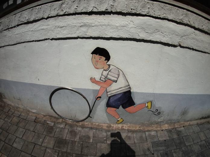 Street Art fromSeoul Area, South Korea. Photo byMark Johnson40