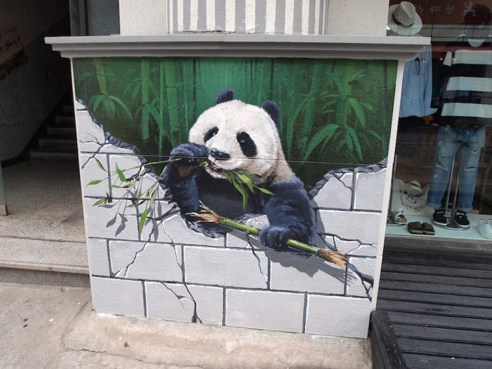 Street Art from Seoul Area, South Korea. Photo by Mark Johnson 54