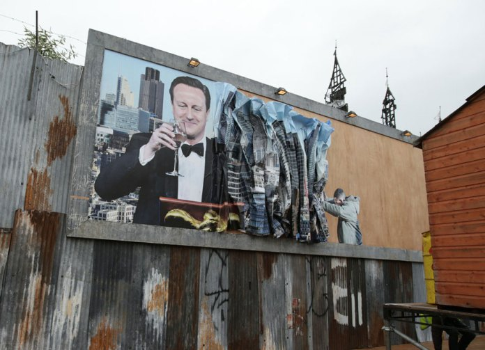 Street Art by Banksy and other artists in London, England - Dismaland 21