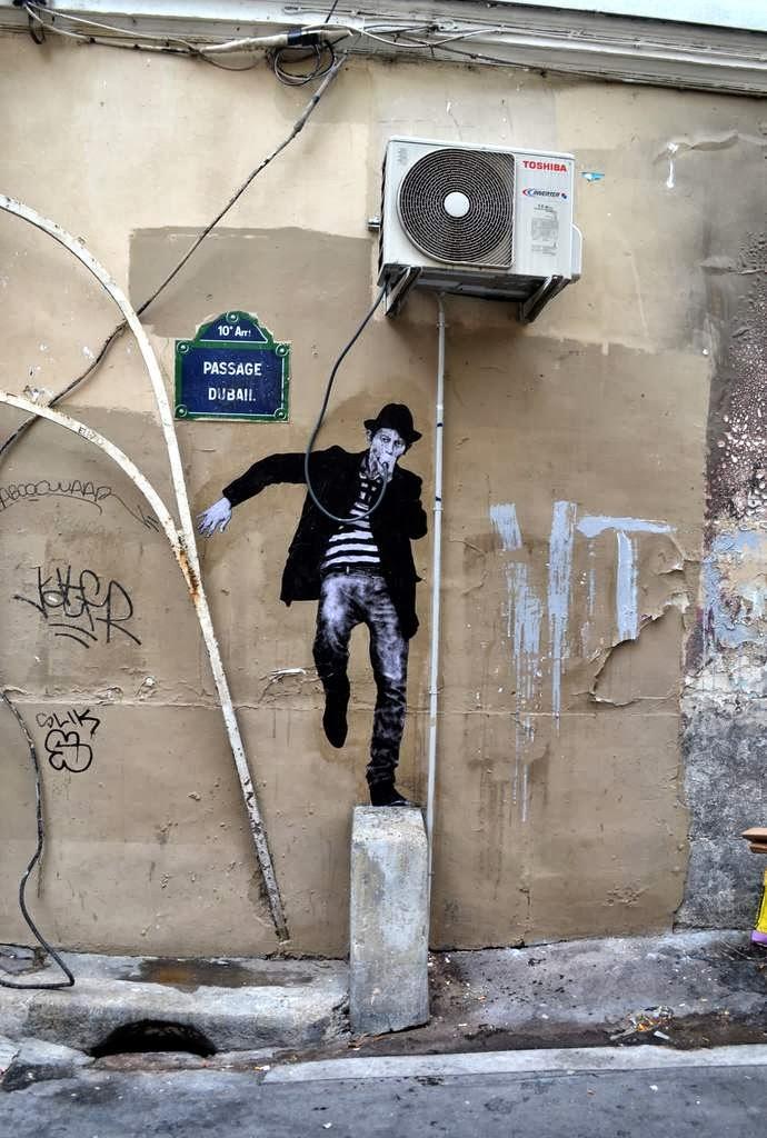 Street Art by Levalet in Paris, France 63665