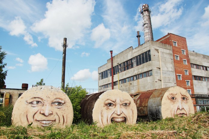 Street Art by Nikita Nomerz - A Collection 7