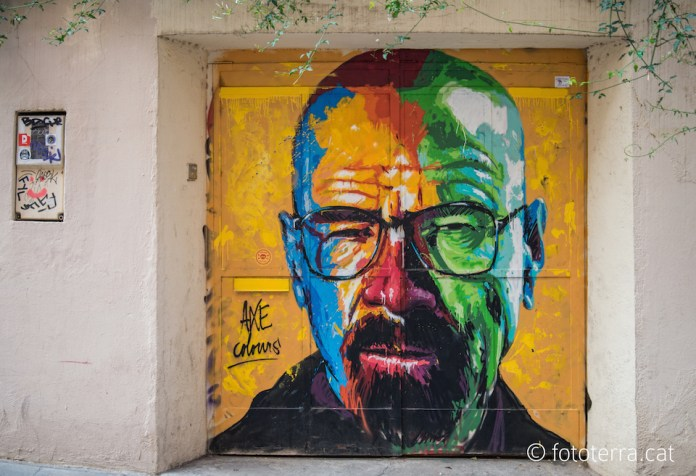 Walter White – By Axe Colours in Barcelona, Spain