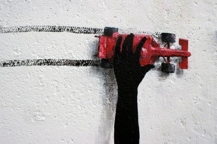 Drift - Street Art by Pejac at Nuart in Stavanger, Norway. A tribute to norwegian Edvard Munch 5