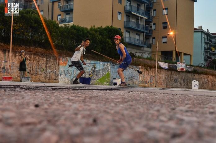 Street Art By Ella & Pitr in Quadrivio di Campagna, Salerno, Italy 12