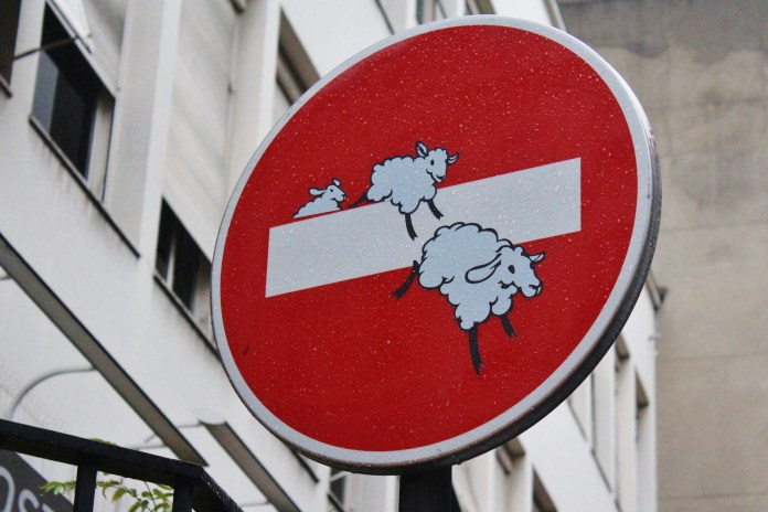 Street (sign) Artist CLET – In Paris and Bretagne, France (9 photos)