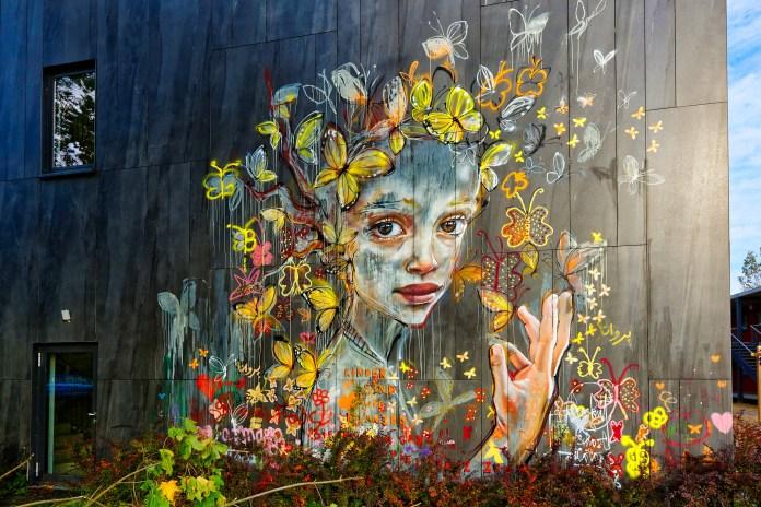 Street Art by Herakut in Berlin, Germany (3 photos)