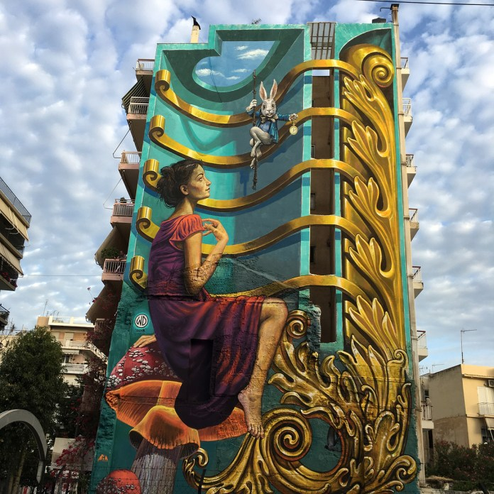 Time Hole – By WD in Patras, Greece (photos + video)
