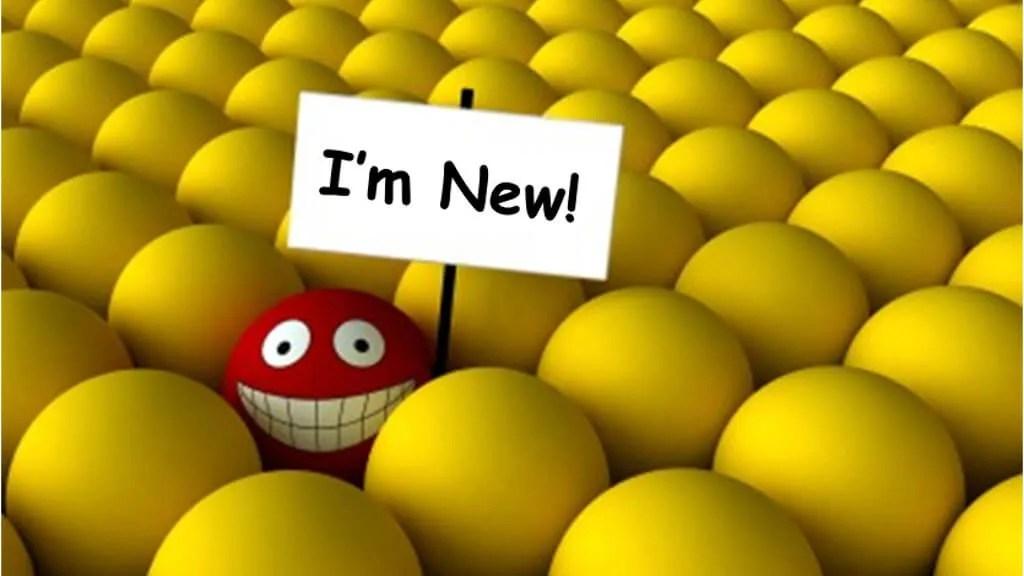 I'm new …