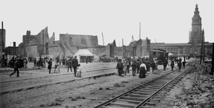 Market and Spear cMay 1906