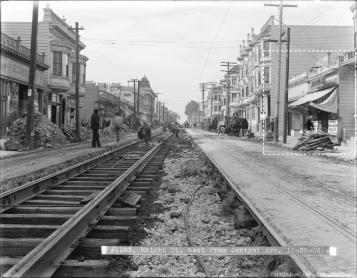 Haight Street, West from Central Avenue