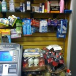 Products on sales floor, Clutter