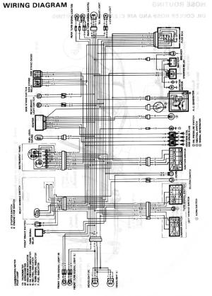 Wanted: 89 GSXR 750 wiring Diagram
